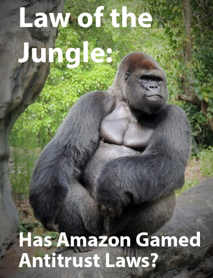 Law of the Jungle:  Does Amazon Avoid Antitrust Using Goodhart's Law?