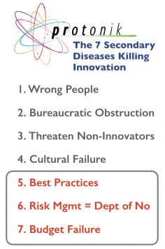 <strong>7 Secondary Diseases that Kill Innovation:</strong> The Departments of No