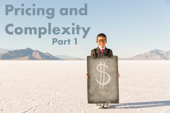 <strong>Pricing and Complexity (Part 1):</strong>  Communication Affects the Pricing Wilderness