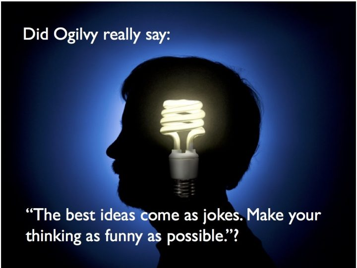 """The Best Ideas Come as Jokes""… But the Best Quotes are Sourced"